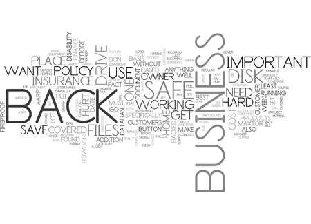 IS YOUR BUSINESS SAFE Text Background Word Cloud Concept