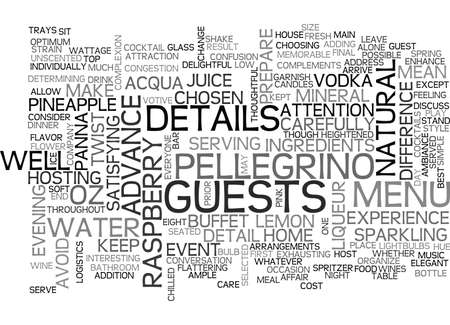 IT S THE DETAILS THAT MAKE A DIFFERENCE Text Background Word Cloud Concept