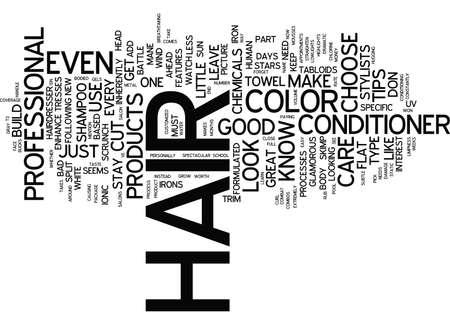 chemically: GREAT HAIR CARE TIPS Text Background Word Cloud Concept Illustration