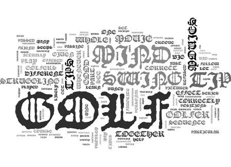 IS THIS THE WORST GOLF TIP EVER Text Background Word Cloud Concept