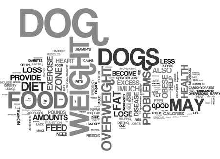 犬脂肪本文背景単語雲・ コンセプトは、します。