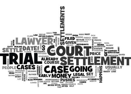 IS IT NECESSARY TO GO TO COURT Text Background Word Cloud Concept Illustration