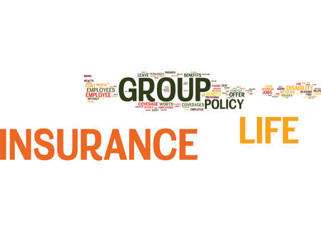 GROUP LEGAL PLANS Text Background Word Cloud Concept Illustration