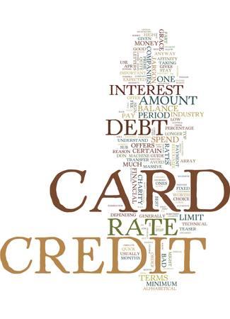クレジット カード ビジネス専門用語を学び、債務のテキスト背景単語雲・概念を停止  イラスト・ベクター素材