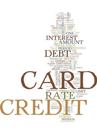 LEARN THE CREDIT CARD BUSINESS JARGON AND STOP YOUR DEBT COLD Text Background Word Cloud Concept