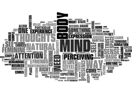 IT S NOT WHAT YOU THINK Text Background Word Cloud Concept