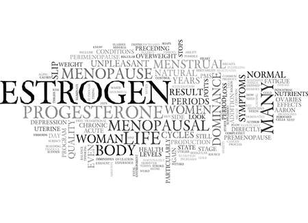 IS MENOPAUSE A LETTER WORD Text Background Word Cloud Concept