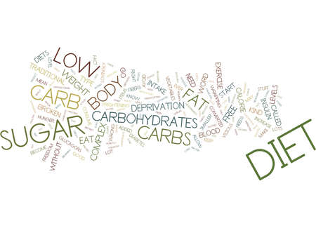 GREAT TIPS FOR LOW CARB DIETERS Text Background Word Cloud Concept