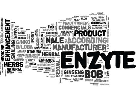 IS ENZYTE RIGHT FOR YOU Text Background Word Cloud Concept