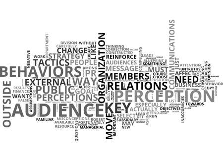 tactics: IS THIS ANY WAY TO RUN YOUR PR Text Background Word Cloud Concept