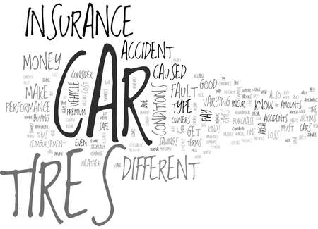 IS YOUR CAR TIRES SAFE Text Background Word Cloud Concept