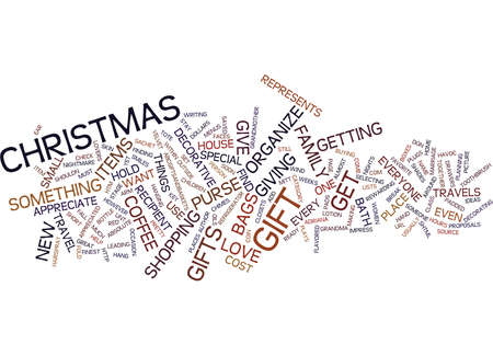 GREAT GIFTS UNDER Text Background Word Cloud Concept