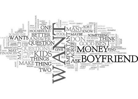 IS MY BOYFRIEND A GOOD MATCH FOR ME MAYBE YES MAYBE NO Text Background Word Cloud Concept