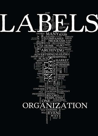 LABELS Text Background Word Cloud Concept