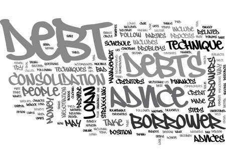 engulf: IT S FREE AND TO YOUR BENEFIT DEBT ADVICE Text Background Word Cloud Concept