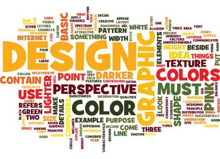 GRAPHIC DESIGNS STANDARDS Text Background Word Cloud Concept Banco de Imagens - 82592608