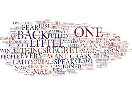GRASSOPHOBIA Tekstachtergrond Word Cloud Concept
