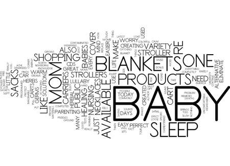 GREAT BABY PRODUCTS THAT MAKE MOM S LIFE EASIER Text Background Word Cloud Concept