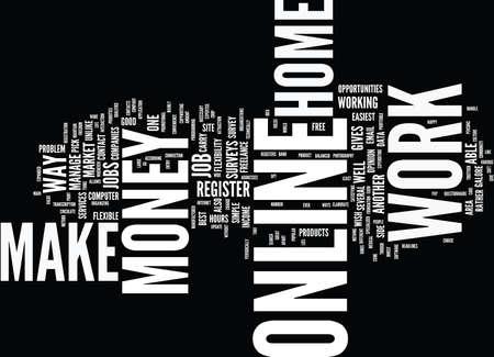 돈을 온라인 텍스트 배경 Word 클라우드 개념을 만드는 좋은 방법