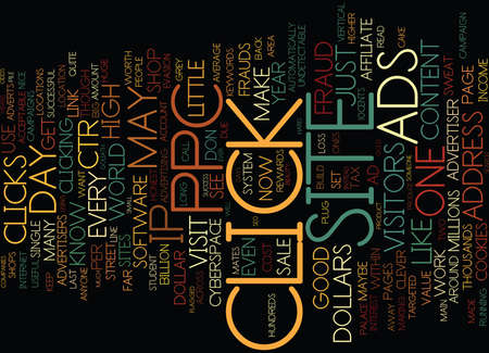 THE PPC AND ADSENSE BOOK Text Background Word Cloud Concept