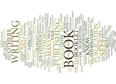 YOU CAN BE AN AUTHOR Text Background Word Cloud Concept