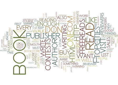 contemplate: YOU RE PUBLISHED NOW HOW DO YOU TELL THE READERS Text Background Word Cloud Concept