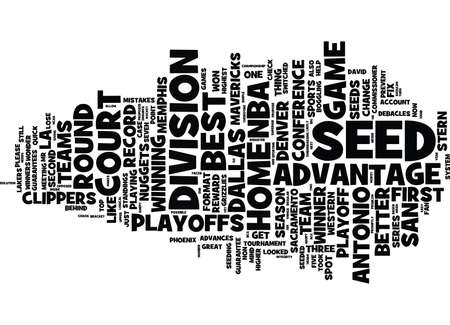 THE NBA NEEDS TO CHANGE IT S PLAYOFF FORMATNOW Text Background Word Cloud Concept