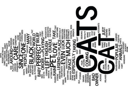 THE LEGENDARY PERFECT PET Text Background Word Cloud Concept Illustration