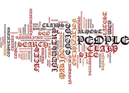 THE LATEST SEO MYTH DEBUNKED Text Background Word Cloud Concept