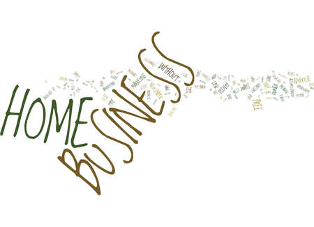 YOU CAN ADVERTISE YOUR HOME BUSINESS FREE Text Background Word Cloud Concept Illustration