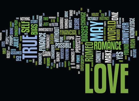 THE ECONOMICS OF TRUE LOVE Text Background Word Cloud Concept Stock Vector - 82593913