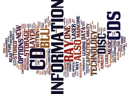 THE NEW TYPE OF DISC Text Background Word Cloud Concept
