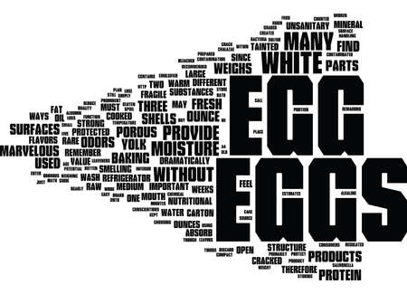 ounce: THE MARVELOUS EGG Text Background Word Cloud Concept