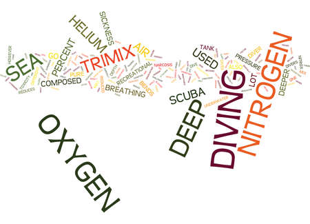 Die Bedeutung von TRIMIX Text Hintergrund Word Cloud-Konzept Vektorgrafik