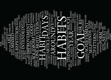 reserved: THE POWER OF GOAL ACHIEVEMENT IS IN THE HABIT Text Background Word Cloud Concept