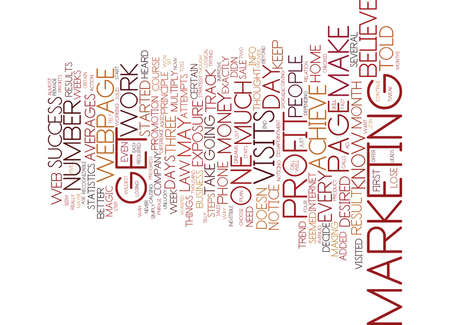 THE LAW OF AVERAGES Text Background Word Cloud Concept Illustration