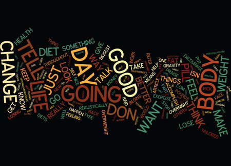 YES YOU CAN LOSE WEIGHT Text Background Word Cloud Concept