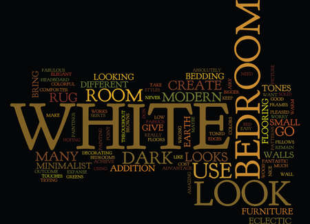 YOU CAN NEVER GO WRONG WITH WHITE Text Background Word Cloud Concept Иллюстрация