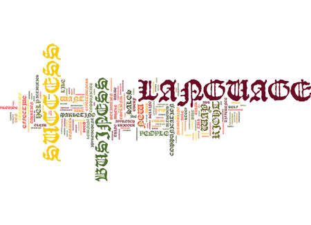 THE LANGUAGE OF SUCCESS A NEW WAY TO TALK ABOUT YOUR BUSINESS Text Background Word Cloud Concept