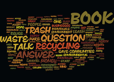 THE ENVIRONMENTAL BOOK ON EVERYONE S LIPS Text Background Word Cloud Concept Illustration