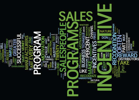 THE INCENTIVE DILEMMA Text Background Word Cloud Concept