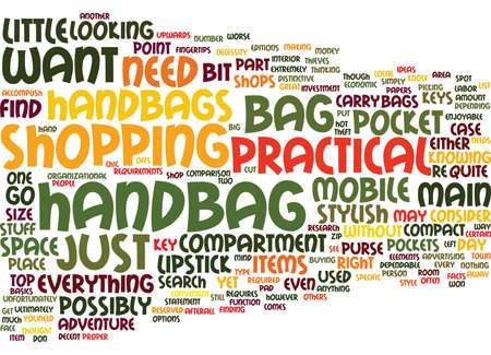 THE MOST ECONOMIC TO THE MOST PRICEY HANDBAGS Text Background Word Cloud Concept