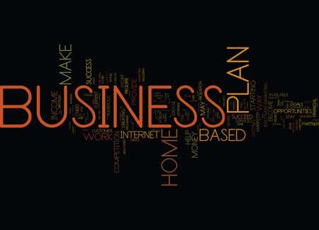 YOU CAN MAKE MONEY WITH A HOME BASED BUSINESS Text Background Word Cloud Concept
