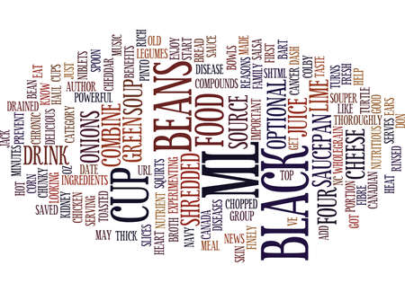 YOU DON T KNOW BEANS Text Background Word Cloud Concept