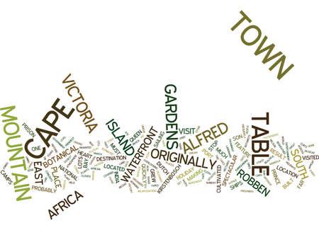 ケープタウン テキスト背景単語雲概念の魔法 写真素材 - 82595314
