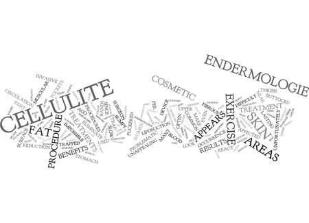 smoothen: THE MAIN BENEFITS OF ENDERMOLOGIE Text Background Word Cloud Concept