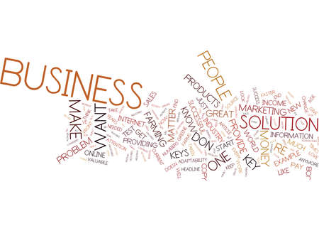 THE KEYS TO BUSINESS VICTORIES Text Background Word Cloud Concept