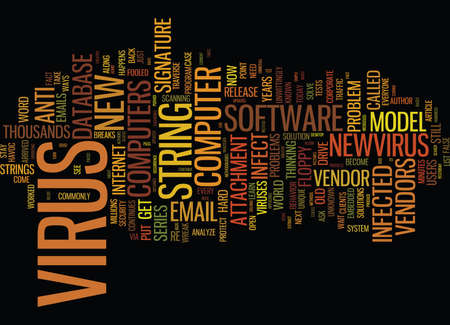 THE MOVE TO E NEW ANTI VIRUS MODEL Text Background Word Cloud Concept Illustration