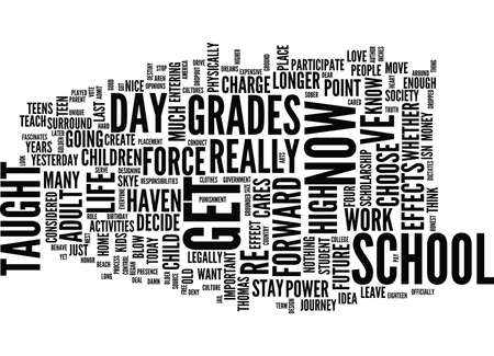 THE LAST DAY OF WHO CARES Text Background Word Cloud Concept