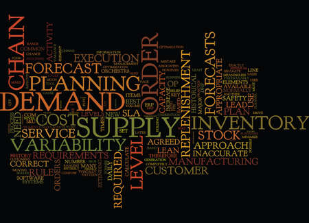 THE KEY ELEMENTS FOR A BEST PRACTICE SUPPLY CHAIN Text Background Word Cloud Concept Illustration